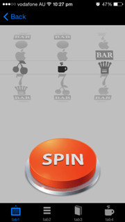 mobile app slot machine game