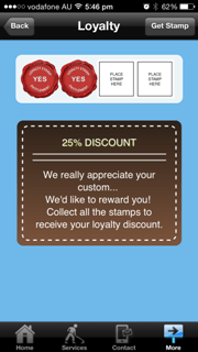 mobile app loyalty system